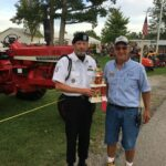 2nd Place Best Restored Tractor - Dave & Terry Estel