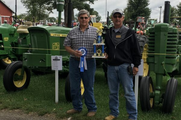 1st Place Best Restored Tractor - Paul Orndorf