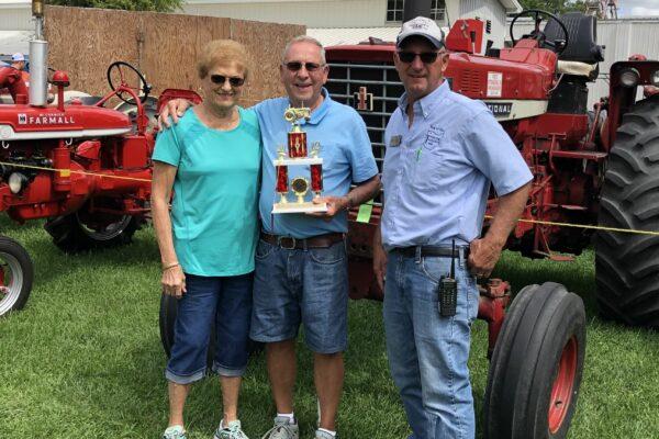 2nd Place Best Original Tractor - Harry Schaechterle