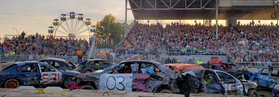 Power Wheels & Ohio's Greatest Demolition Derby
