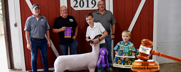 2020 Jr. Fair Livestock Sale